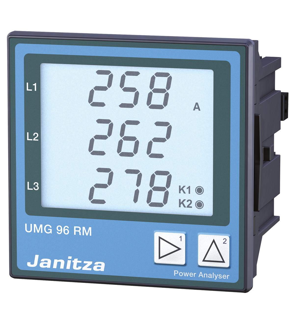 Image 1: Energy measurement device with Ethernet interface UMG 96RM-EL.