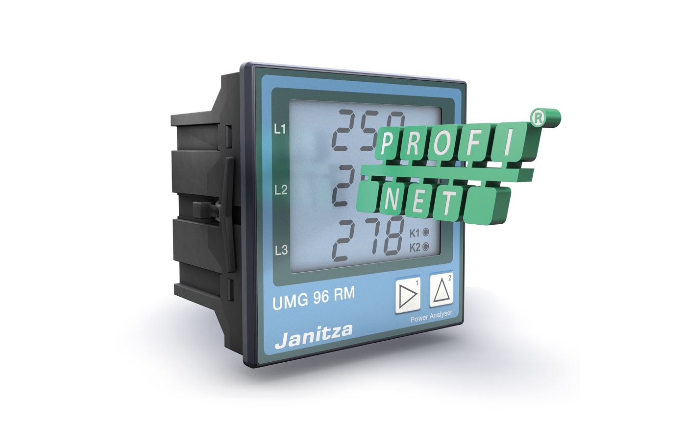 Energy measurement device with direct PROFINET integration