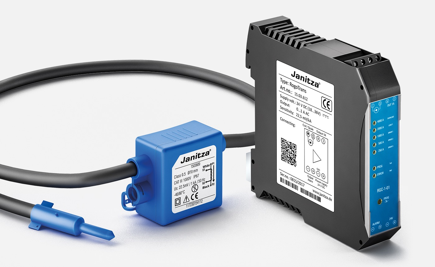 New: Rogowski current transformer and measurement transducer