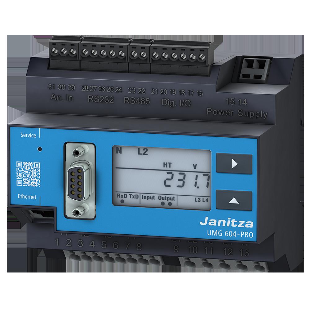 Power quality analyser UMG 604-EP PRO - Janitza electronics
