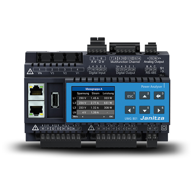 Energy and power quality measurement products - Janitza