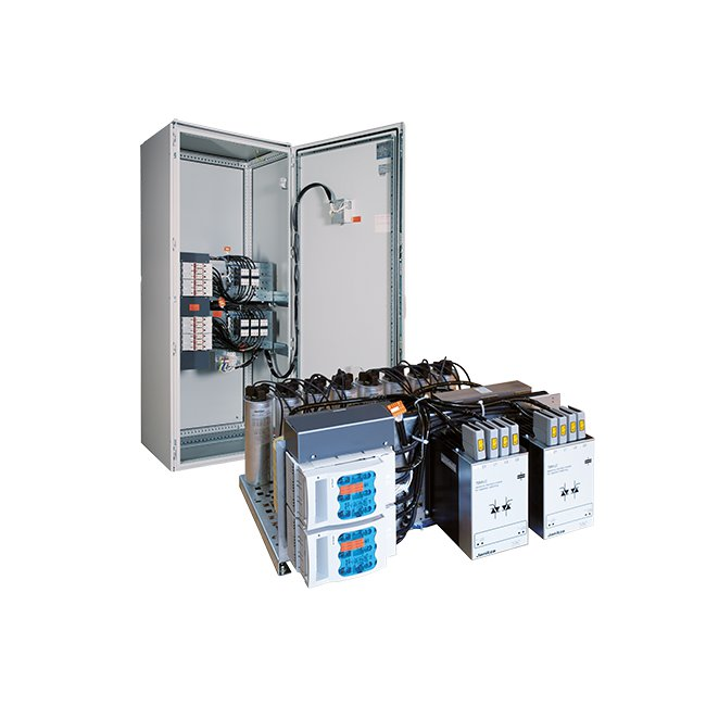 Dynamic power factor correction systems