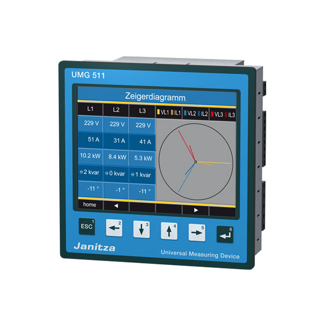 Energy and power quality measurement products - Janitza electronics