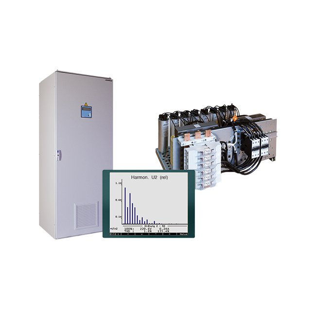 De-tuned power factor correction systems