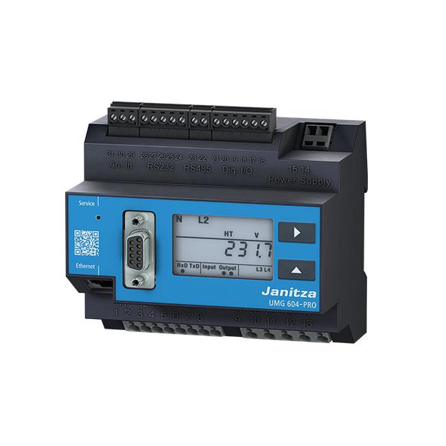 Energy and power quality measurement products - Janitza electronics