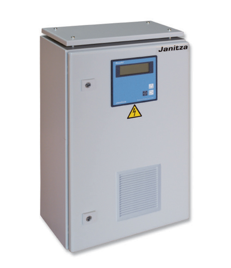 Power factor correction systems without reactors - Janitza