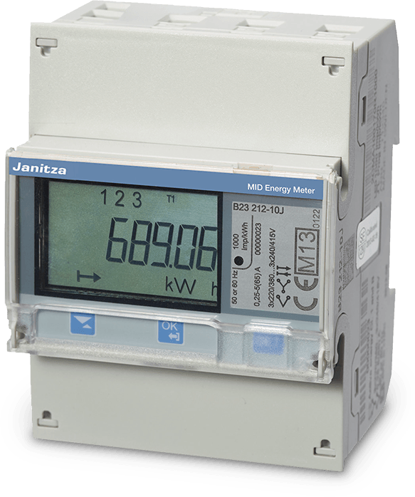 MID energy meter and measurement system - Janitza electronics