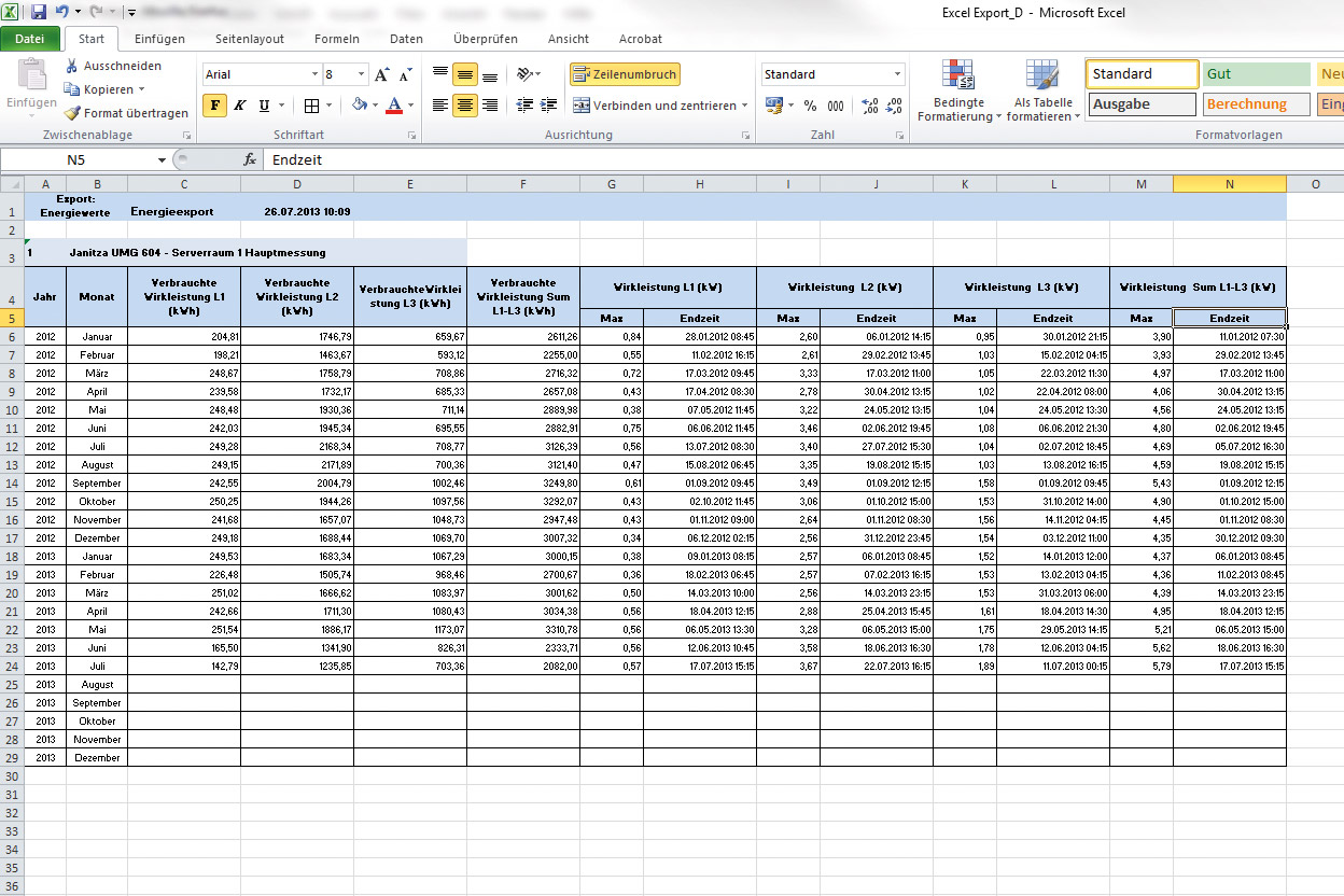 excel due date template