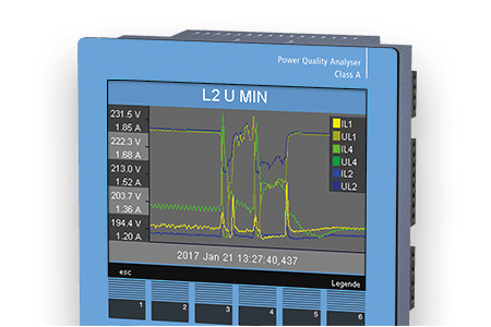Power quality analyser UMG 512-PRO