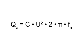 Calculation formula for the capacitor - Janitza electronics