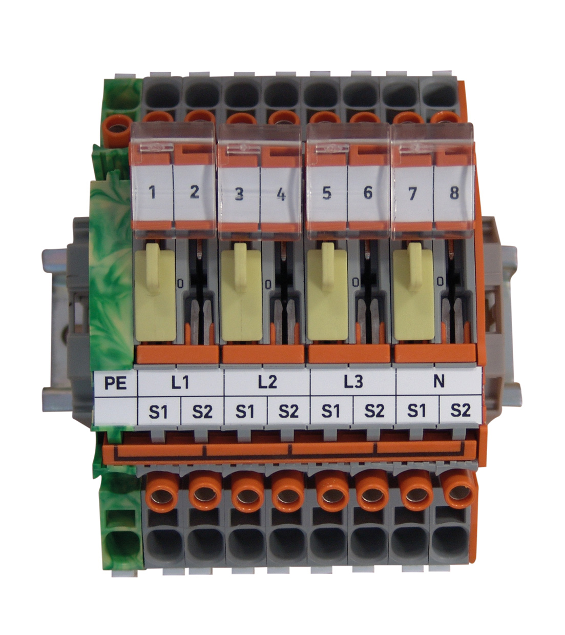 Fig.: Current transformer terminal block