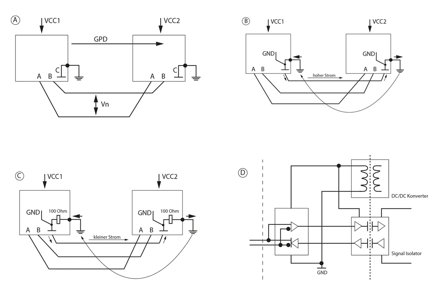 Communication Via The Rs485 Interface Rs 485 2wire Diagram Fig Image 11