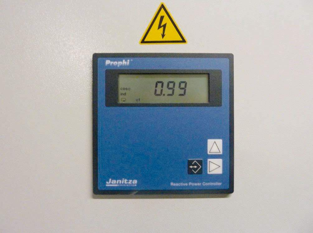 Image 4: The Prophi power factor controller has optimum control performance