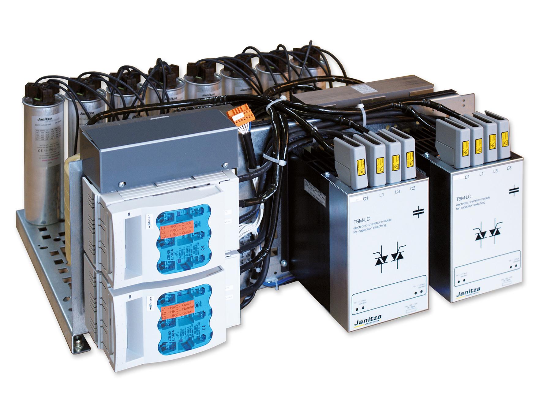 Dynamic power factor correction - Janitza electronics